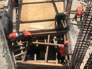Level-six-formwork-being-installed