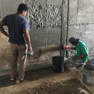 Level-three-waterproofing-work