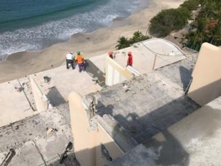 Preparing-level-six-terrace-floor-to-receive-waterproofing