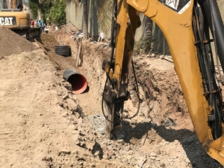 Rock-removal-for-storm-water-pipe-installation